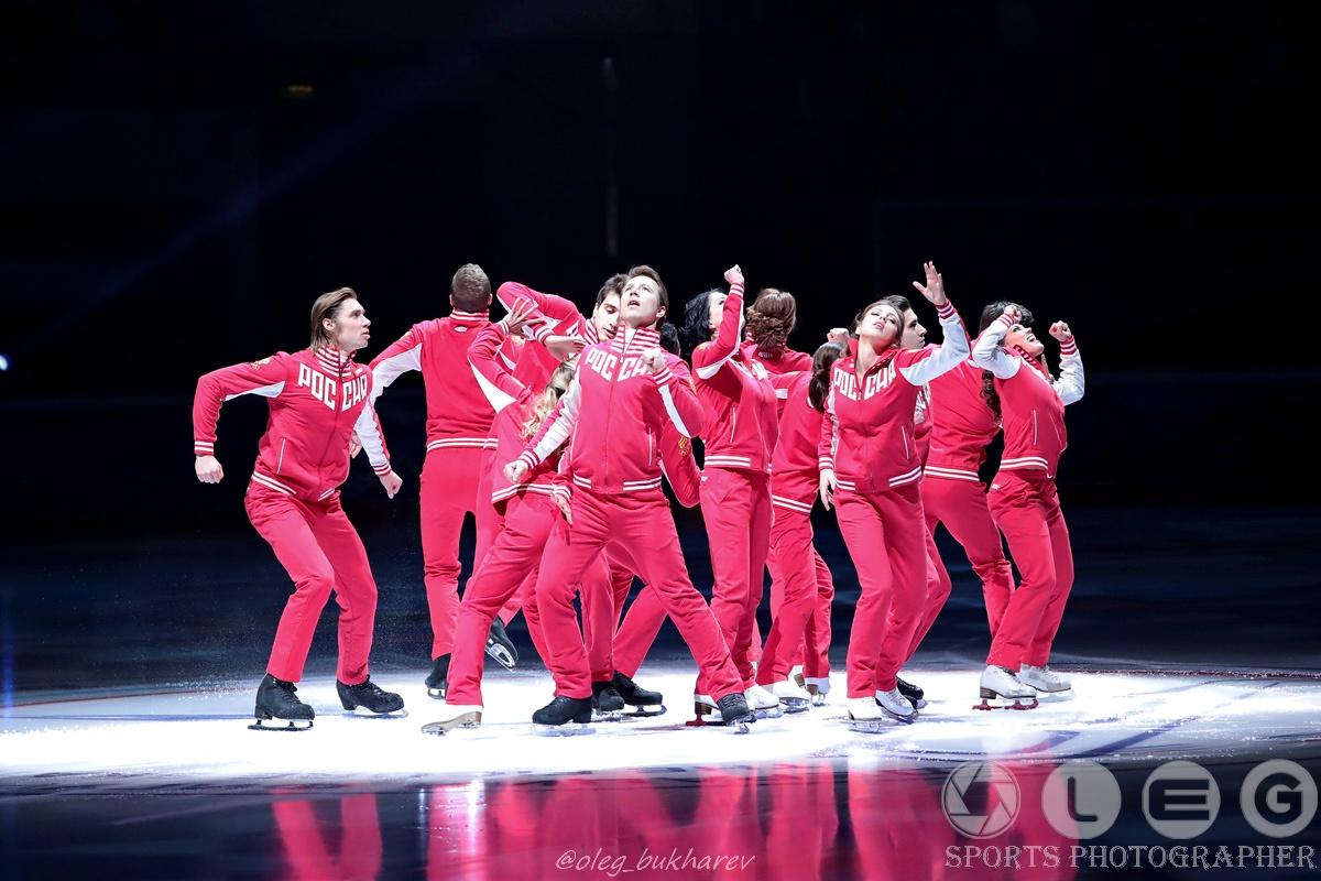 Шоу Олимпийцев «Гордость нации. Чемпионы – Москве!»