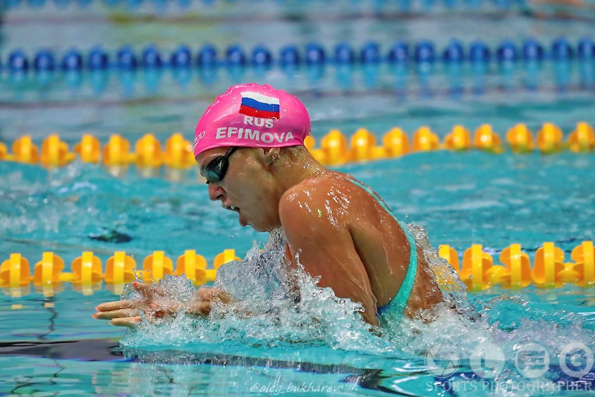 Чемпионат России по плаванию-2018