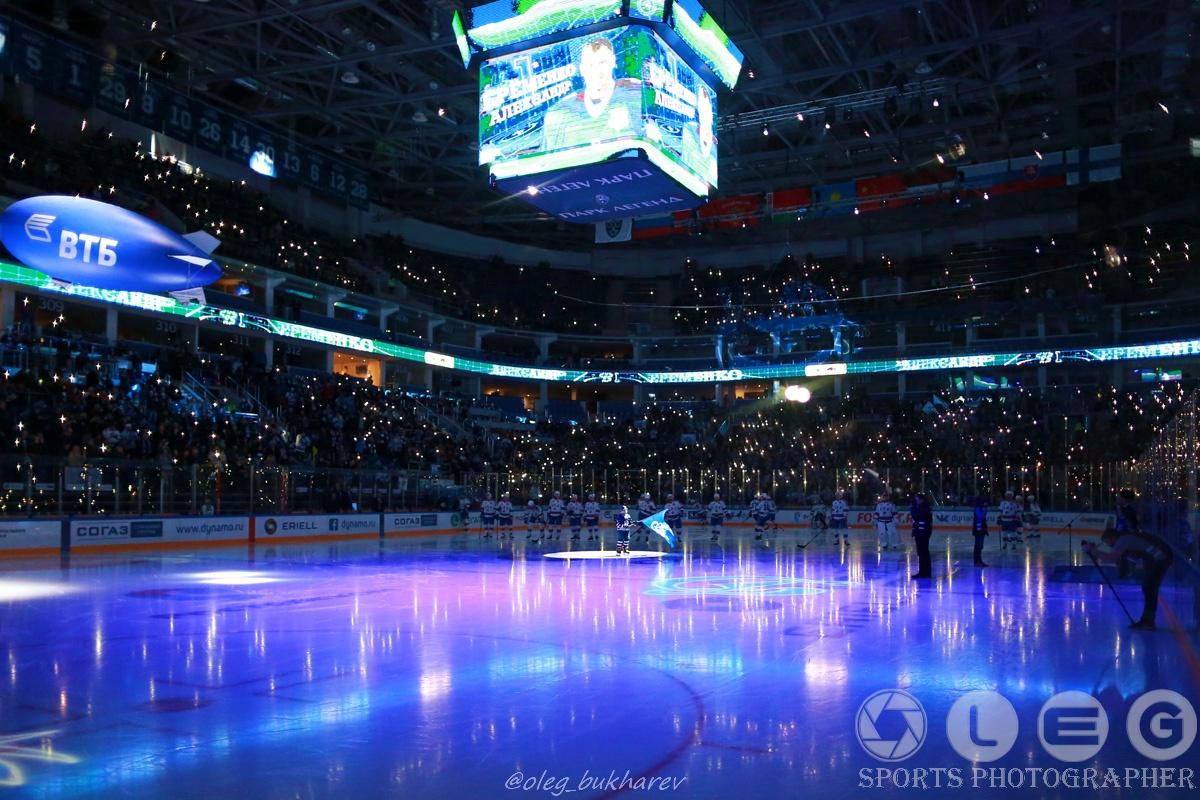 КХЛ. «Динамо» Москва – СКА Санкт-Петербург.