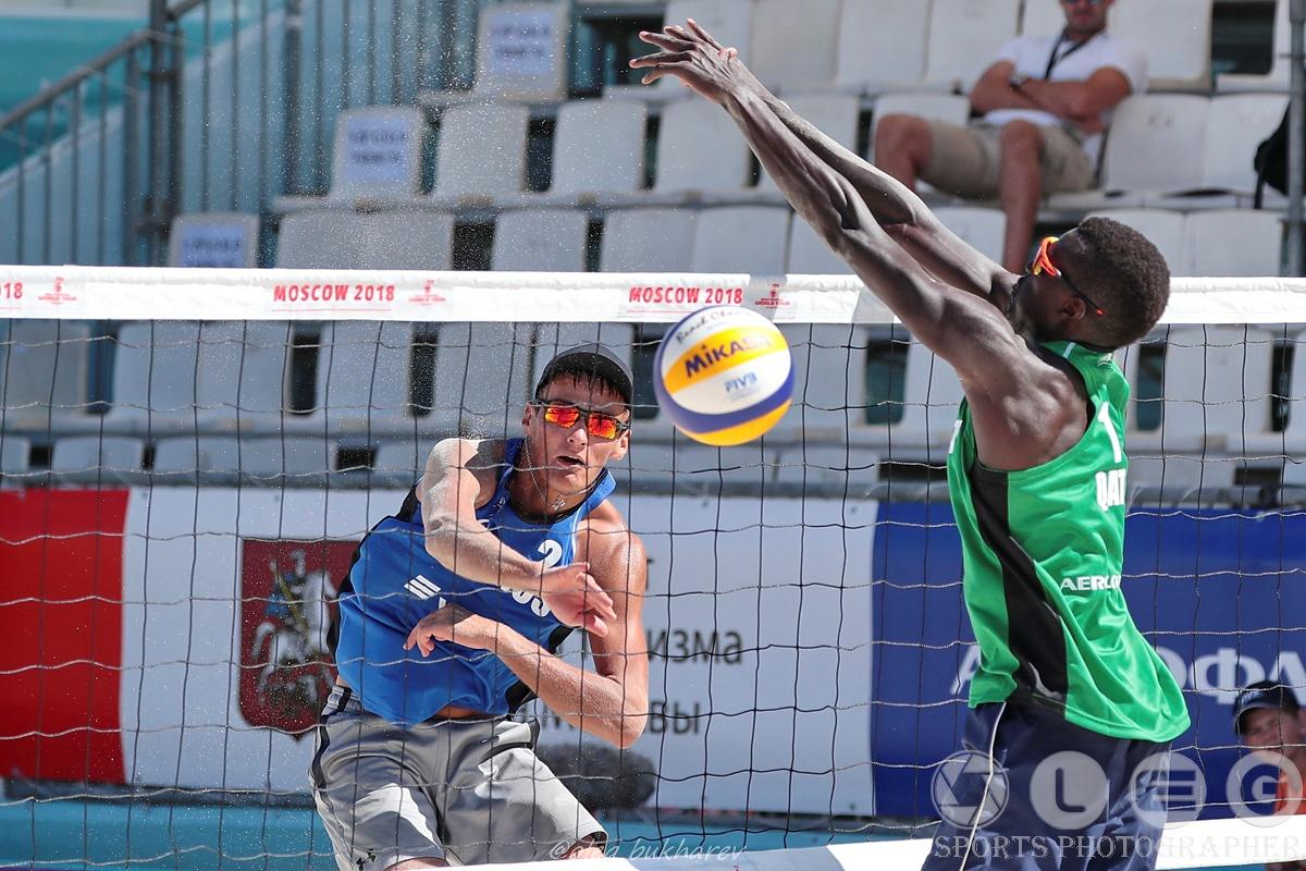 Московский этап мирового тура по пляжному волейболу