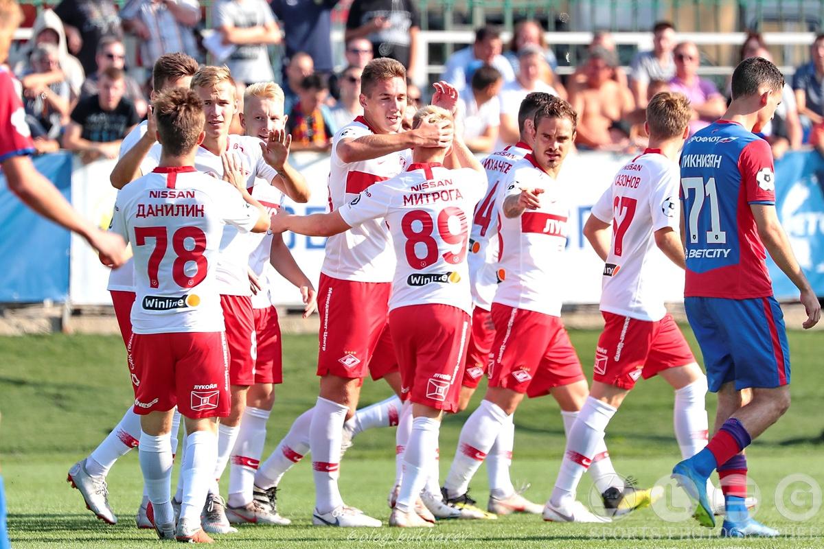 Молодёжка красно-белых одержала победу в дерби с ЦСКА