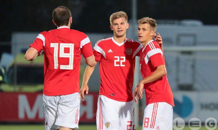 Футбол. Молодёжная сборная России сыграла вничью с Египтом