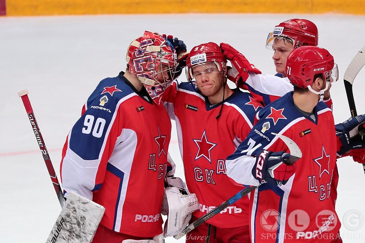 КХЛ: ЦСКА побеждает в серии буллитов сочинских «леопардов»