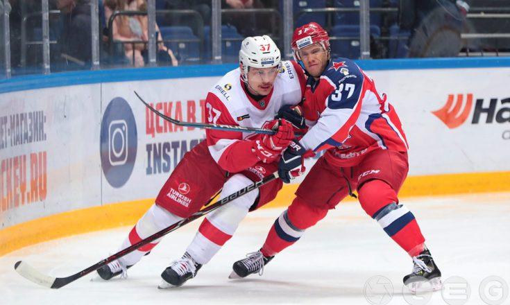 КХЛ: ЦСКА одерживает минимальную победу в дерби с красно-белыми