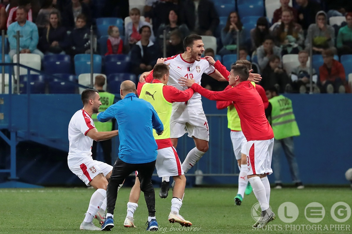 Футбол. Молодёжная сборная России уступила Сербии в Нижнем Новгороде