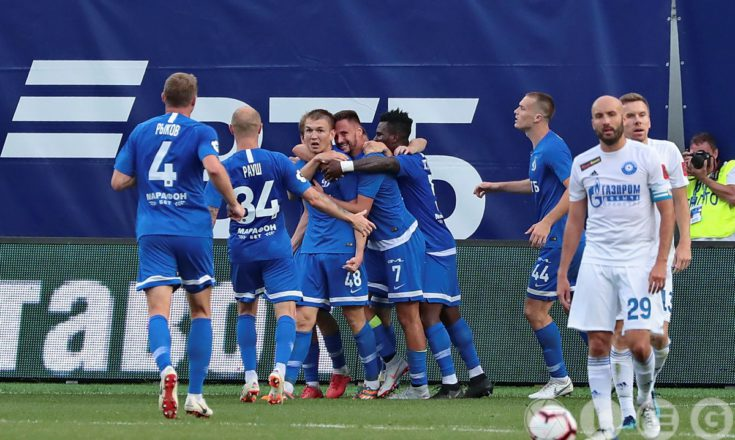 «Динамо» – «Оренбург». Уверенная победа хозяев.
