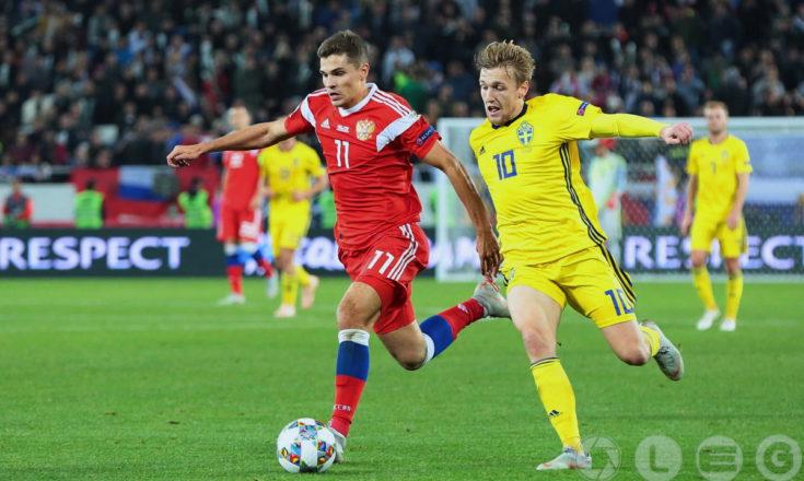 Боевая ничья сборной России со Швецией в Лиге наций.