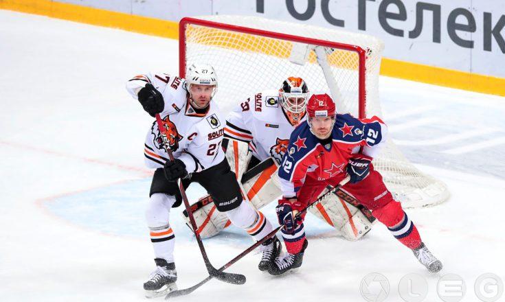 КХЛ. 12-я победа подряд ЦСКА.