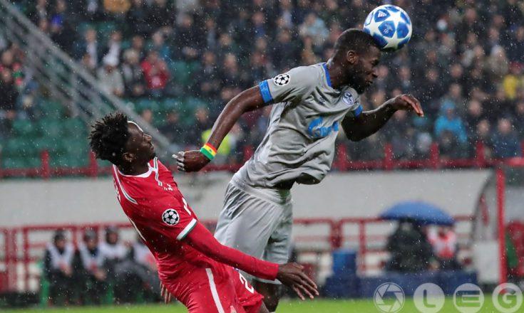 Второе поражение «Локомотива» в Лиге Чемпионов