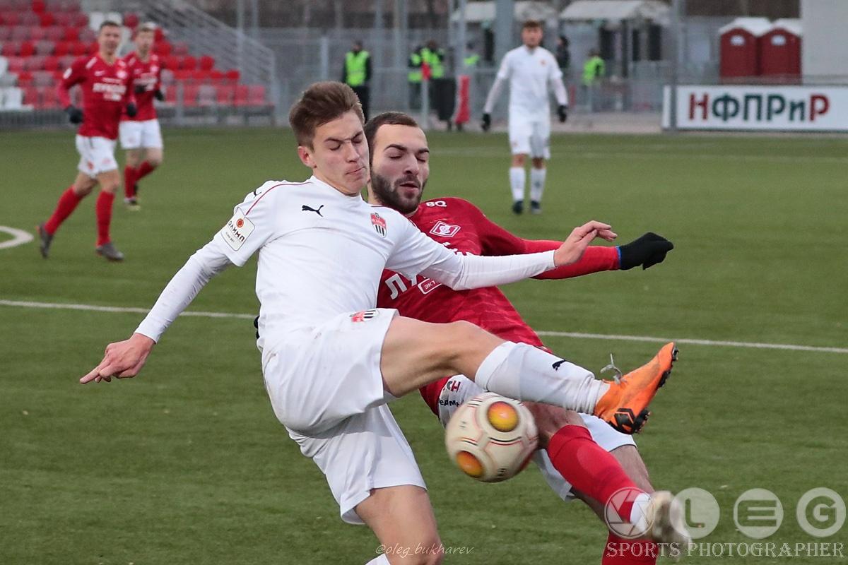 «Спартак-2»: обидное поражение в последнем матче года