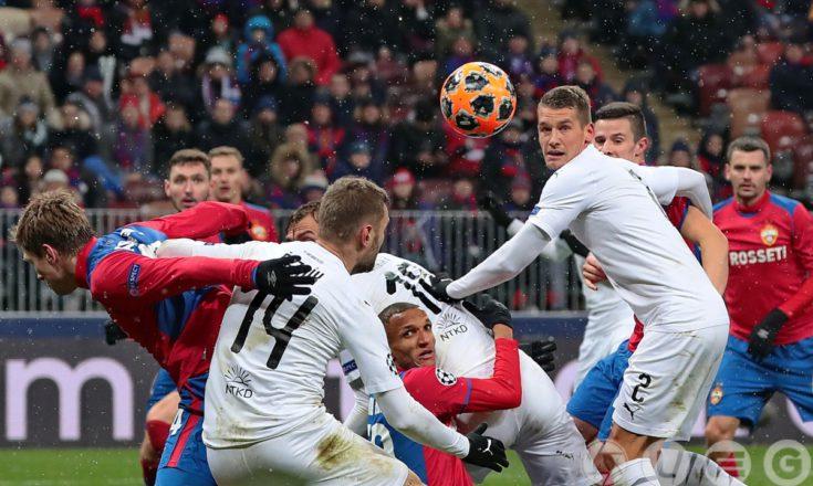 Армейцы в последнем домашнем матче группового раунда Лиги чемпионов уступили «Виктории»