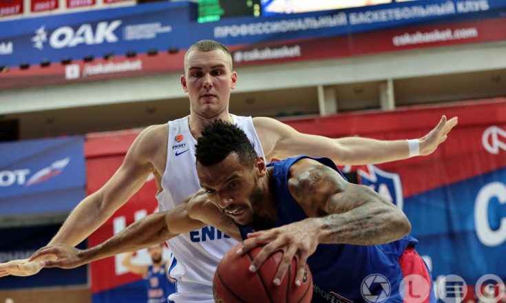 ЦСКА одолел «Енисей» и сохранил статус непобедимого в Единой лиге ВТБ