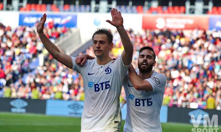 """РПЛ. Ничья в """"дружеском"""" дерби ЦСКА и """"Динамо""""."""