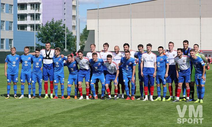 Сборная России по футболу обыграла клуб из ФНЛ
