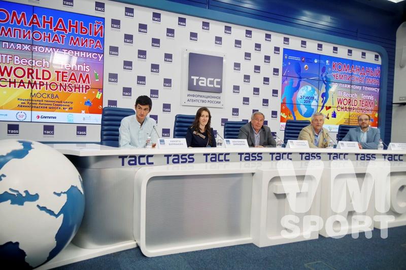 Командный Чемпионат мира по пляжному теннису пройдет в Москве