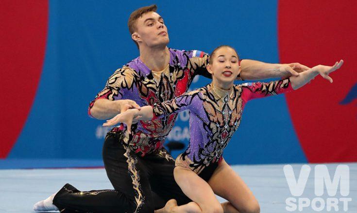 Аксенова и Старцев - чемпионы Европейских игр в дисциплине динамические упражнения!