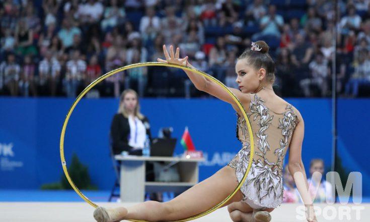 Дина Аверина побеждает в многоборье на Европейских играх