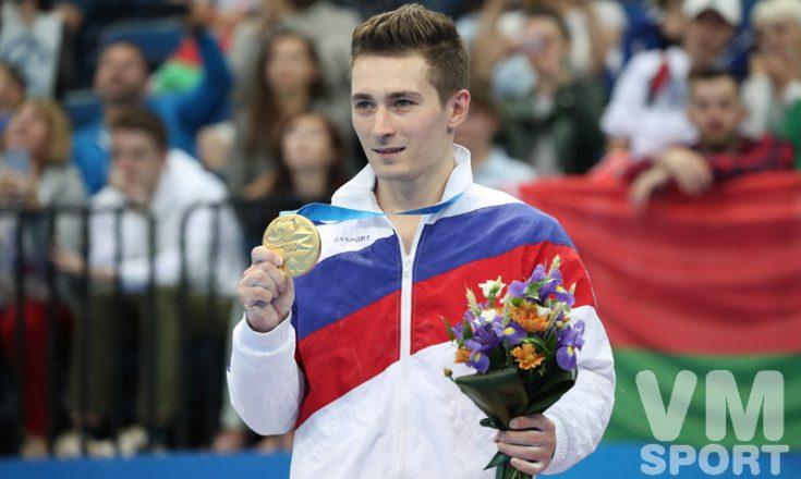 Белявский победил в индивидуальном многоборье на Европейских играх