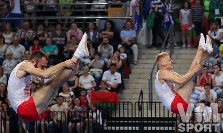 Польский триумф в синхронных прыжках на батуте