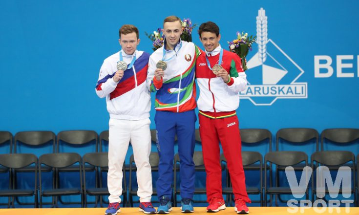 Серебро в прыжках на батуте за Россией