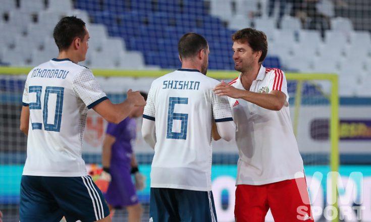 Россия разгромила Швейцарию в отборе к Чемпионату мира