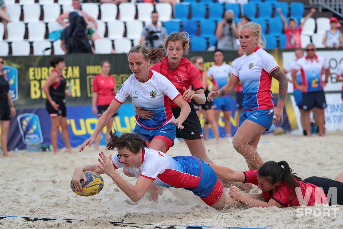 Россия готовится к защите титула - чемпионат Европы по пляжному регби снова в Москве!