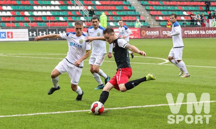 Дубль Никиты Дорофеева принёс  победу «Казанке».