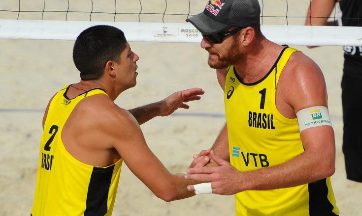 Песчаные битвы пляжных волейболистов или проиграл – иди и тренируйся