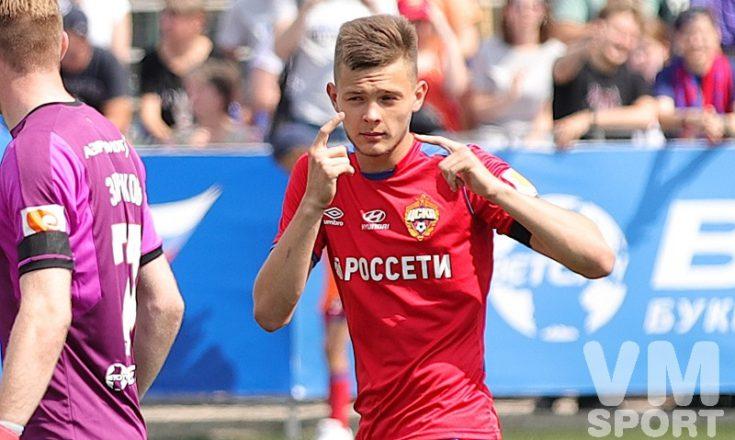 Молодёжка ЦСКА разгромила уфимцев