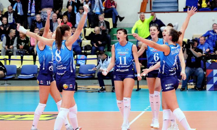 Московское «Динамо» одерживает первую победу в чемпионате