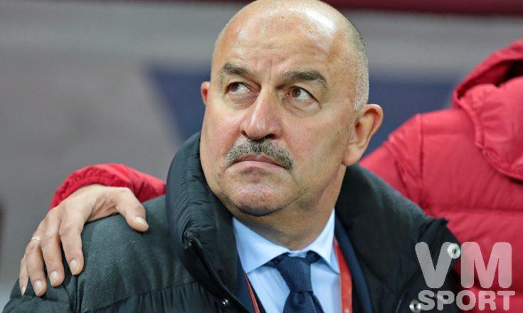 Станислав Черчесов: «Мы стоим под флагом и гимном»