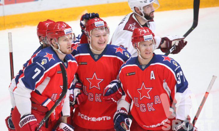 ЦСКА возвращается на первое место, феномен «Спартака» и очередное фиаско «Магнитки». Обзор дня в КХЛ.