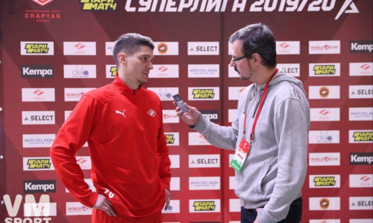 Олег Скопинцев: «В первом тайме долго не удавалось найти свою игру»