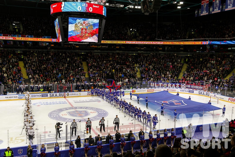 Ледовое сражение в Санкт-Петербурге