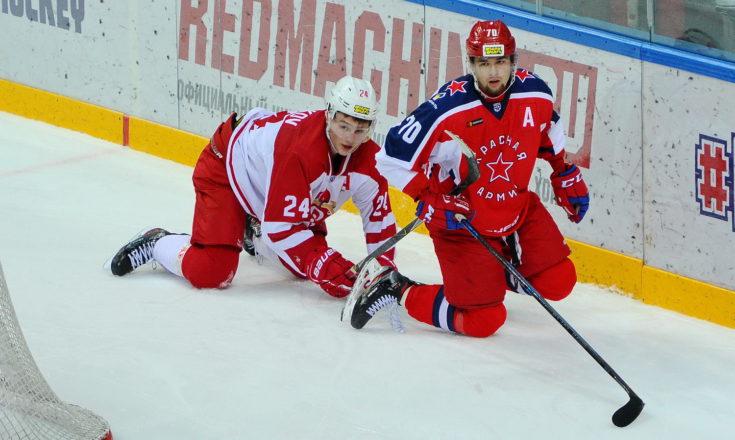 «Красная Армия» зарубила «Русских Витязей»