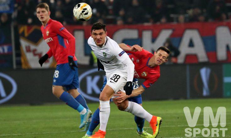 ЦСКА и «Лудогорец» завершили пятый тур игрой вничью