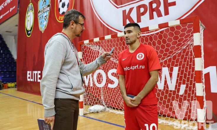 Артём Ниязов: «По сути дела, при такой мощной поддержке, мы ещё не играли»