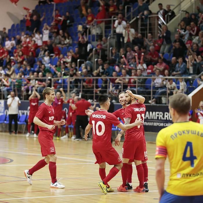 Лига Чемпионов по мини-футболу в Москве!