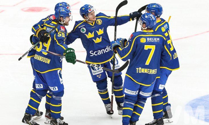 Швеция обыграла Чехию в матче Кубка Первого канала