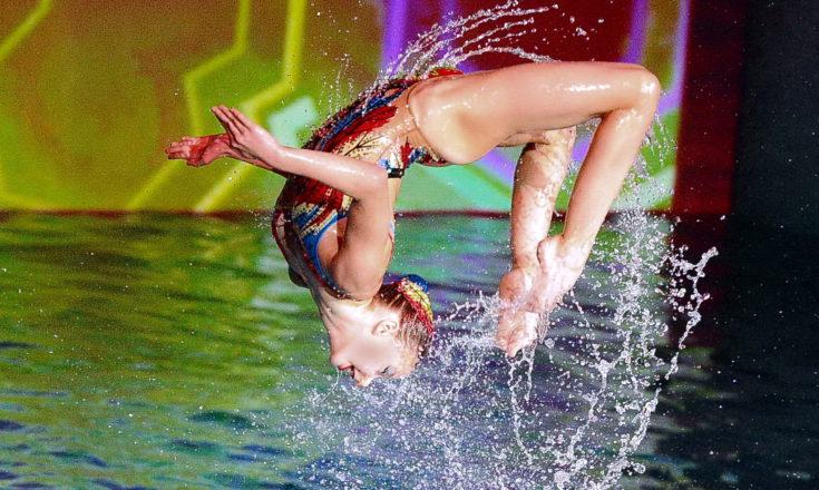 Шоу Олимпийских чемпионов по синхронному плаванию 2019