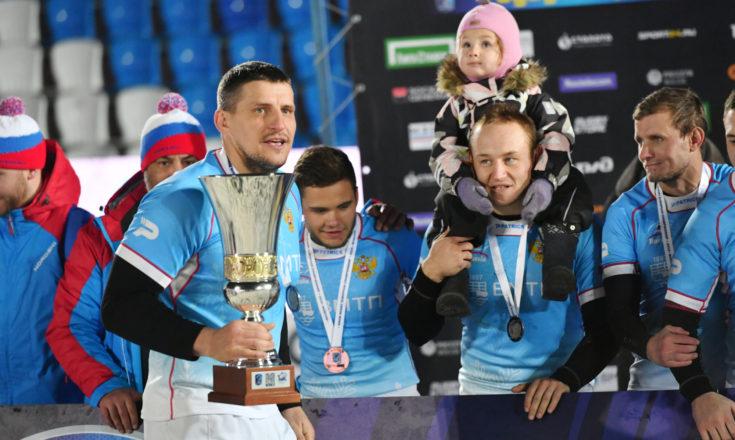 Регби на снегу – только в России!
