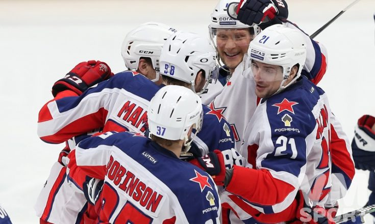 «Динамо» лишь попыталось противодействовать ЦСКА