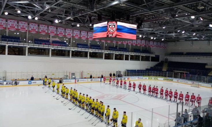 МХК «Спартак» вернулся в Парк Легенд и крупно обыграл «Атлант»