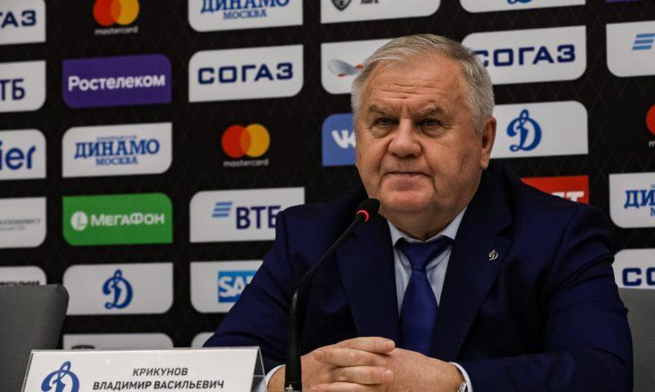 """Владимир Крикунов: """"Ко второй игре за два дня команда оказалась не готова"""""""