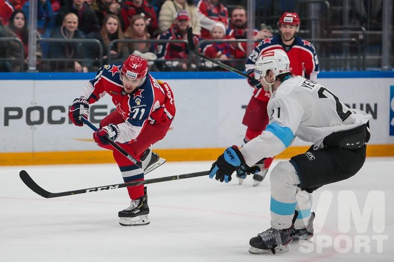 Безоговорочная победа ЦСКА над минским «Динамо»