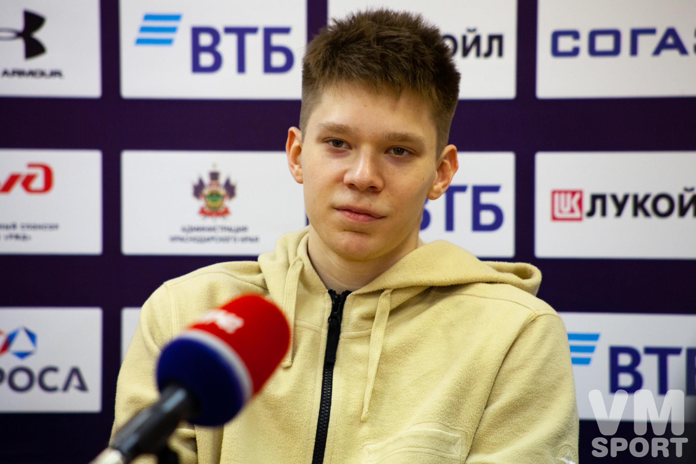 Захар Ведищев: «Во второй четверти мы начали играть друг за друга»