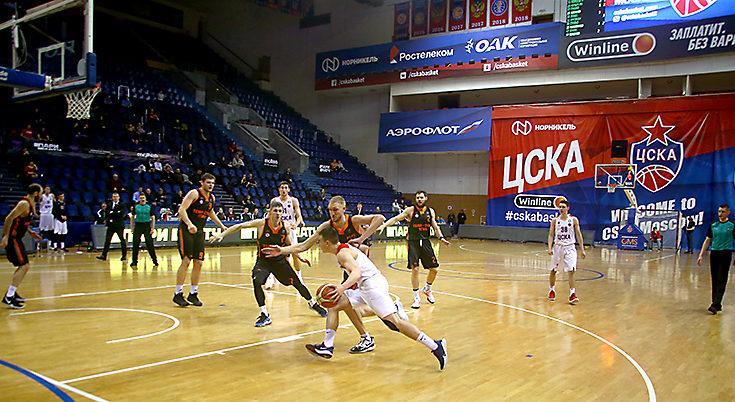 Провал во второй четверти стал причиной поражения ЦСКА-2 от «Темп-CУМЗ-УГМК»