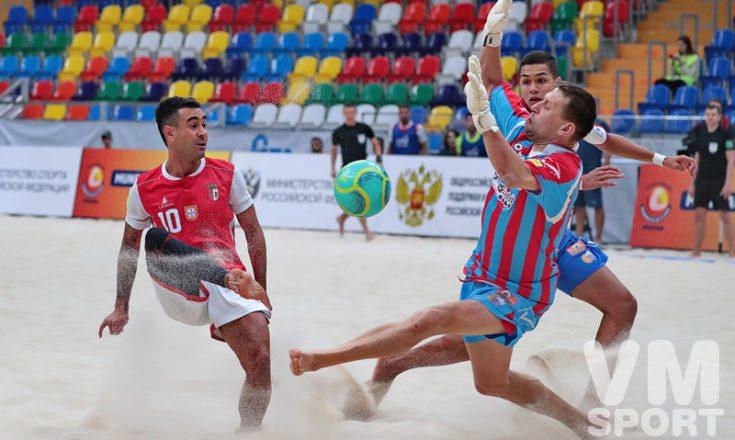 Лучшие клубы мира по пляжному футболу сыграют в Москве