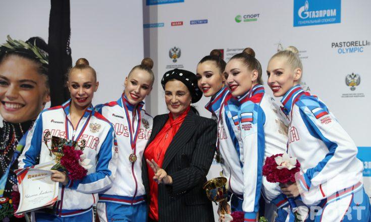 """Ирина Винер-Усманова: """"Солдатова ещё составит конкуренцию другим гимнасткам"""""""