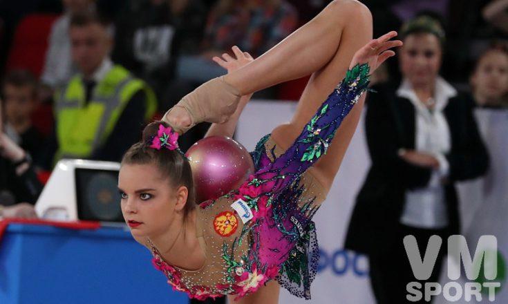 В Москве стартует Чемпионат России по художественной гимнастике